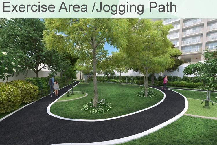 DMCI Homes Exercise Area Jogging Path
