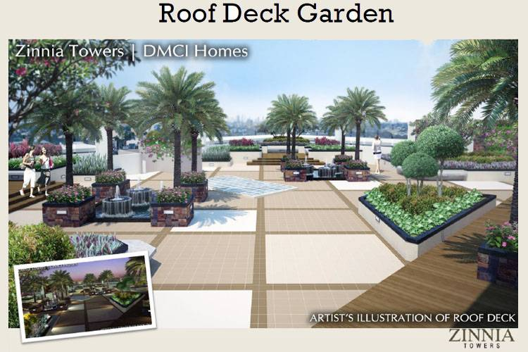 DMCI Homes Roof Deck Garden