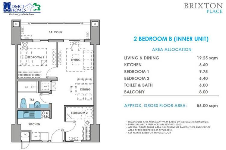 2 Bedroom B Inner