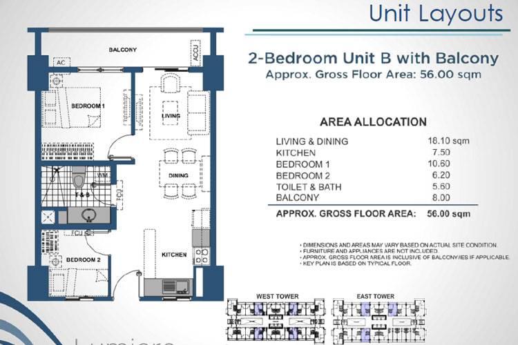 2 Bedroom Inner B