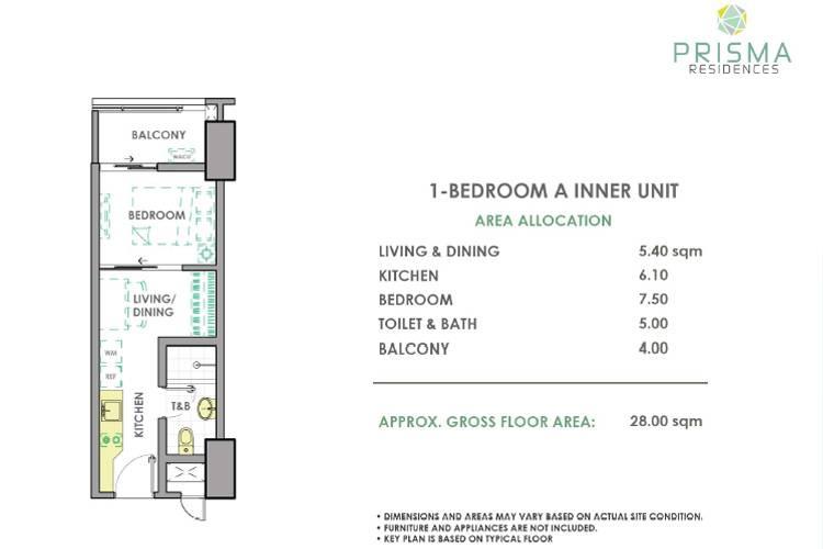 1 Bedroom Inner A